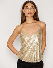 NLY Trend Sequins Strap Top