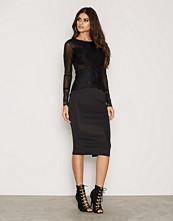 Ax Paris L/S Lace Bodycon Dress