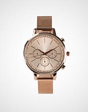 New Look Diamanté Dial Mesh Strap Watch