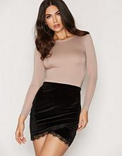 NLY One Wrap Velvet Skirt