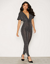 NLY One Flirty Lurex Jumpsuit