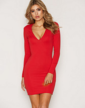 NLY Trend Heavy Plunge Dress