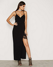 NLY One Wrap Lace Detail Maxi