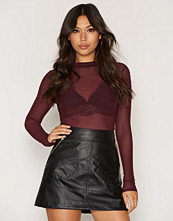 NLY Trend Light Mesh Top