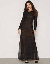 French Connection Hettie Jewel Ls Maxi Dress