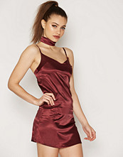 NLY One Choker Cami Satin Dress