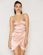 NLY One Wrap Satin Dress