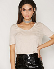 T by Alexander Wang Rayon Cropped Tee