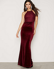 NLY Eve Velvet Lace Gown