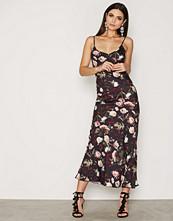 Miss Selfridge Rose Water Maxi Slip Dress