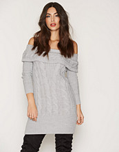 Miss Selfridge Cable Bardot Knitted Dress
