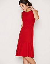 Closet S/L Pep Hem Midi Dress