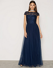 Chi Chi London Navy Prala Dress