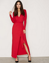 NLY Trend Front Wrapped Maxi Dress
