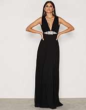 NLY Eve Pleated Embellished Gown