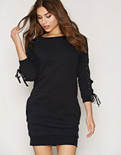 Miss Selfridge Lace Up Sleeve Sweater Dress