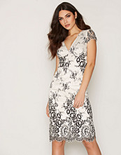 French Connection SS V Neck Lace Dress