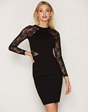 French Connection Viven Lace Sleeve Dress