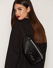 Calvin Klein Svart Re-Issue # Waist Bag Pu
