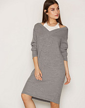 T by Alexander Wang Heather Grey Merino Pullover Dress