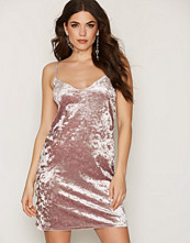 NLY One Crushed Velvet Cami Dress
