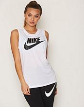 Nike Hvit/Svart Nsw Essntl Tank Mscl Hbr