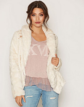 Free People Embroidered Cascade Fur