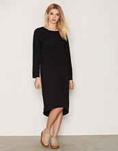 Moss Copenhagen Black Ilia Cia Sweatdress