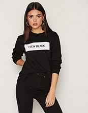 New Black Landscape Logo L/S Tee