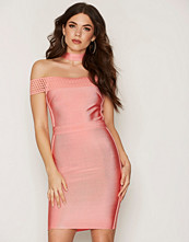 Wow Couture Bardot Choker Dress