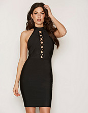 Wow Couture Front Strap Mini Dress