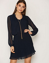 Michael Kors Drawstring Cowl NK Dress