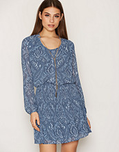 Michael Kors Blue Tex Devonshire Dress