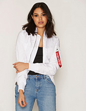Alpha Industries White Ma- 1 Tt Wmn