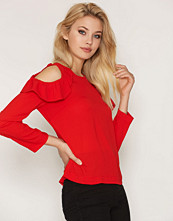 NLY Trend Shoulder Frill Blouse
