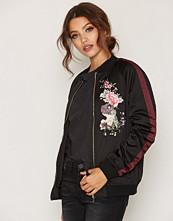Miss Selfridge Embroided Bomber Jacket