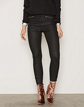 Miss Selfridge Steffi Super High Waist Coated Jeans