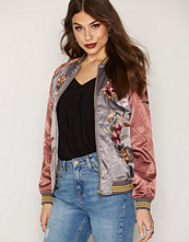Miss Selfridge Multi Floral Bomber Jacket