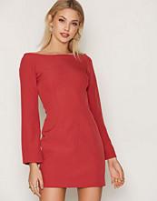 Keepsake Red Walk the Wire L/S Dress