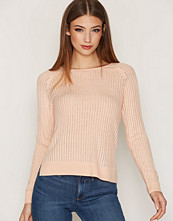Only Lys rosa onlROSE Rib L/S Pullover Knt Noos