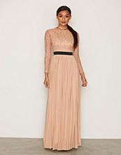 Rare London Lace Long Sleeve Maxi Dress