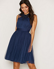Little Mistress Lace And Mesh Prom Dress