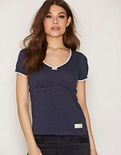 Odd Molly Dark Blue Our Town S/S Top