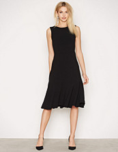 Closet Sleeveless Pep Hem Midi Dress