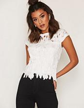 Ax Paris Short Sleeve Lace Top