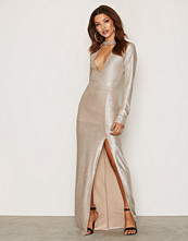 Glamorous Bodycon V-neck L/S Dress