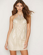 Forever Unique Champagne Emmie Dress