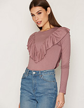 NLY Trend Frill Top