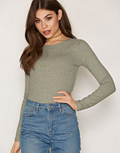 NLY Trend Wide Rib Top