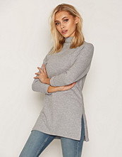 New Look Brushed Funnel Neck Split Side Tunic